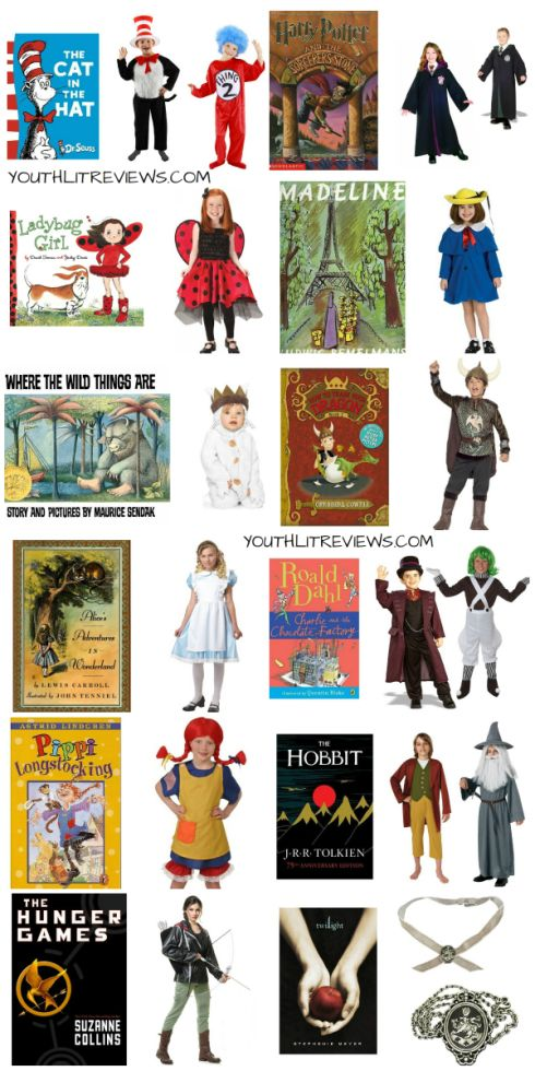 Costume clipart book character #4