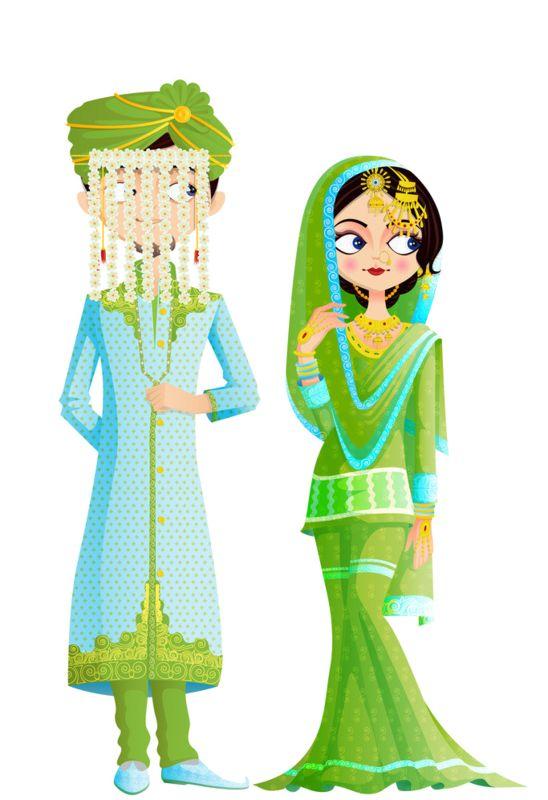 Culture clipart indian couple Clipart personne individu personnages gens
