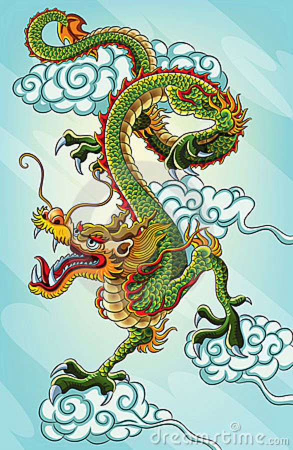 Costume clipart chinese dragon #8