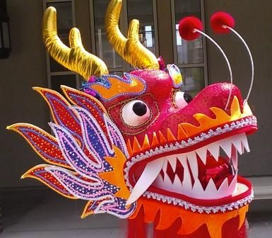Costume clipart chinese dragon #5