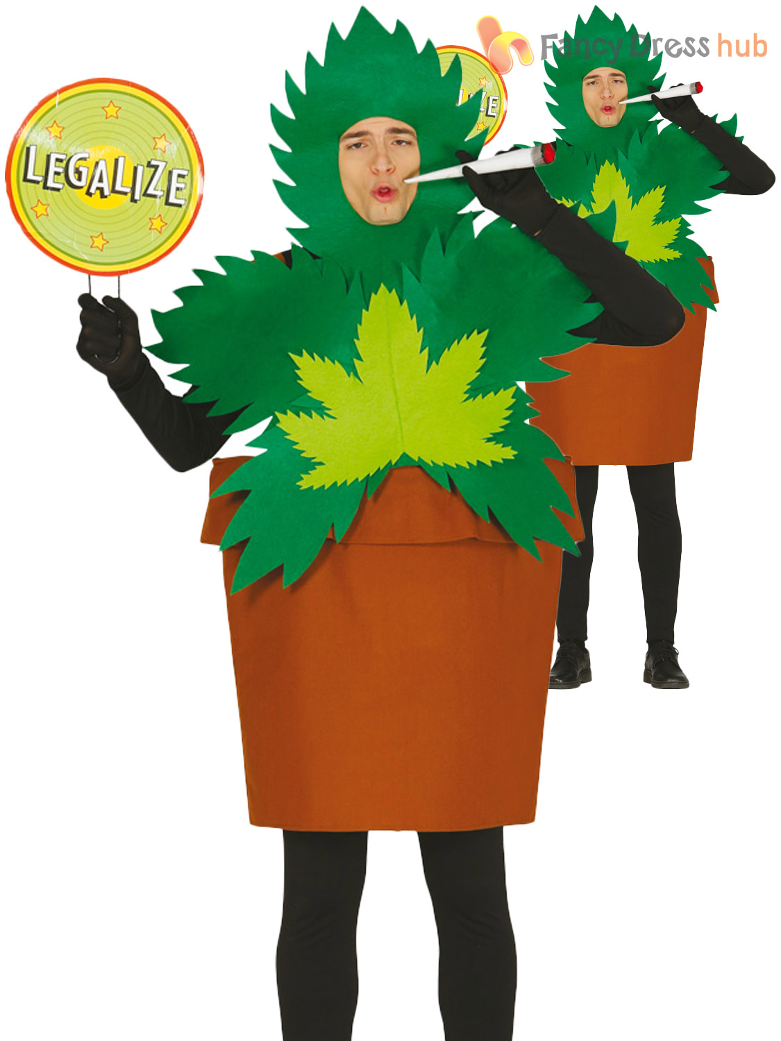 Costume clipart fancy dress Plant Cannabis Funny Plant Weed