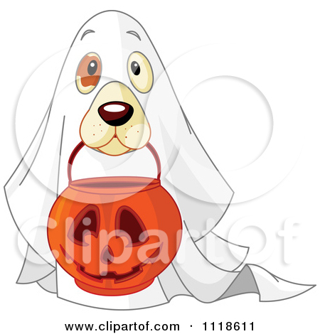 Costume clipart lion dance Treating Or Halloween Ghost In