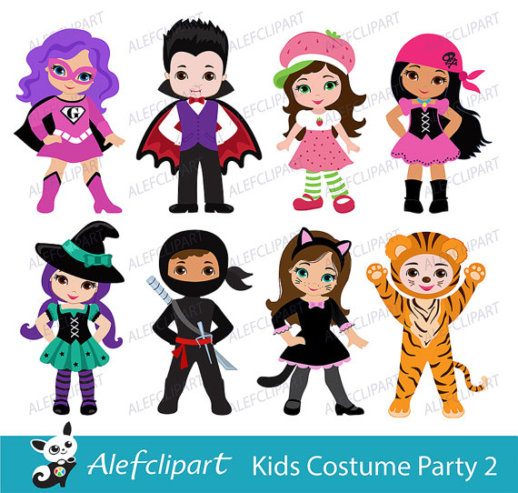 Costume clipart halloween child Clipart Cute clipart costume /