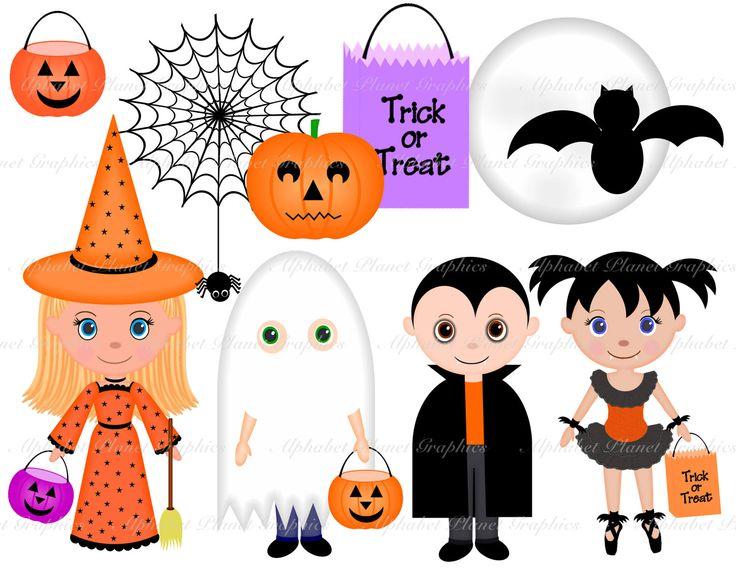 Costume clipart halloween child Clip set SunkissedGraphics2 about 17