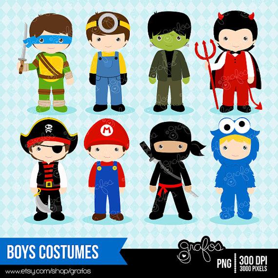 Costume clipart halloween child Halloween Costume  grafos COSTUMES