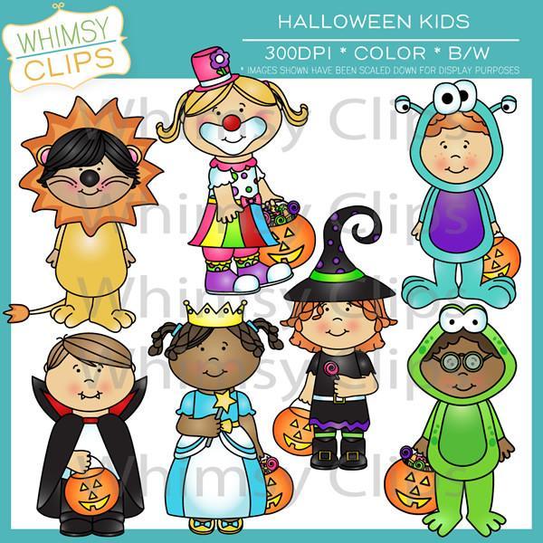 Costume clipart halloween child Clip Little Halloween Images Kids