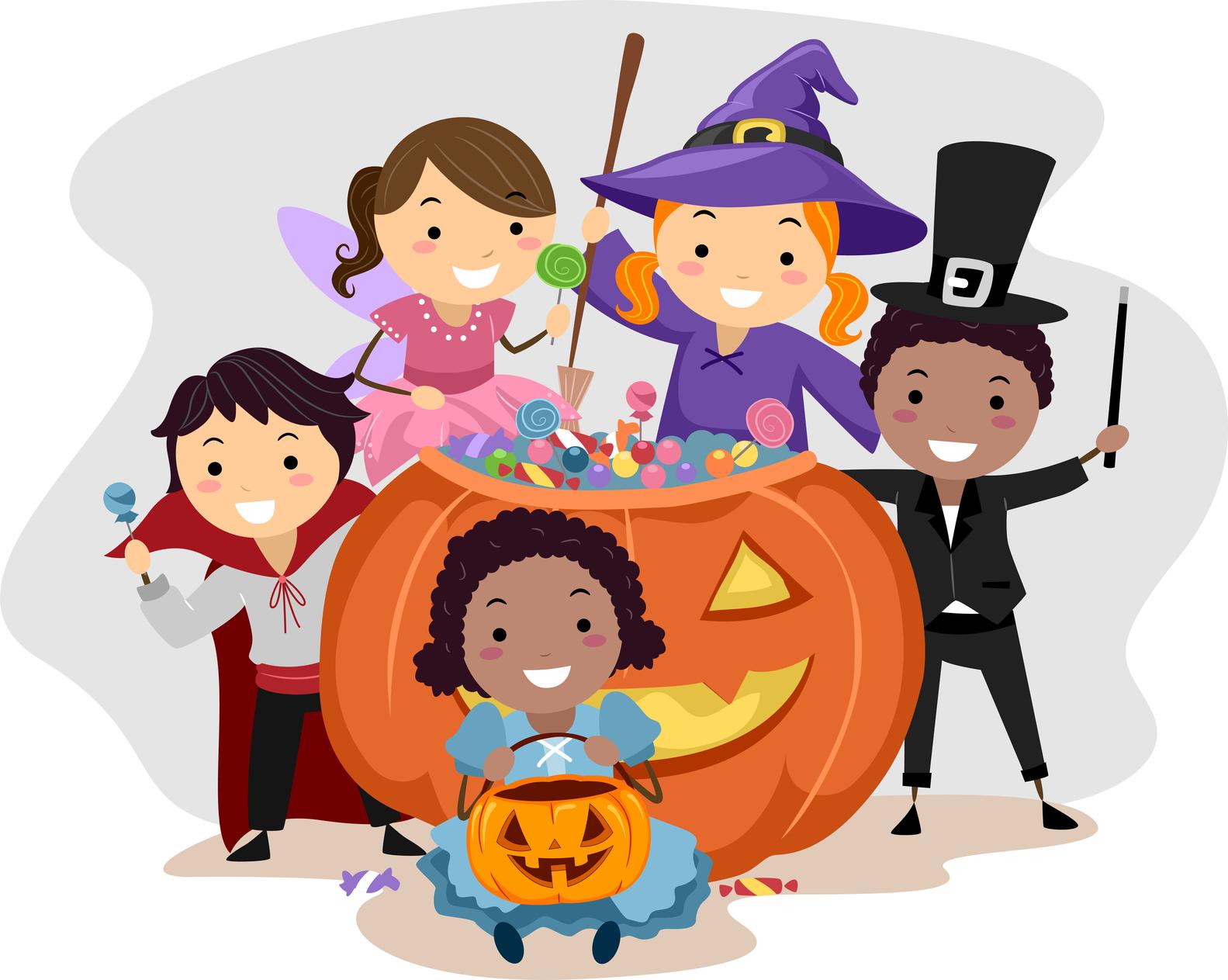 Costume clipart halloween child Creative costume for Costume kids
