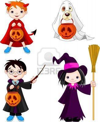 Costume clipart halloween child Stock 15170797 best on halloween