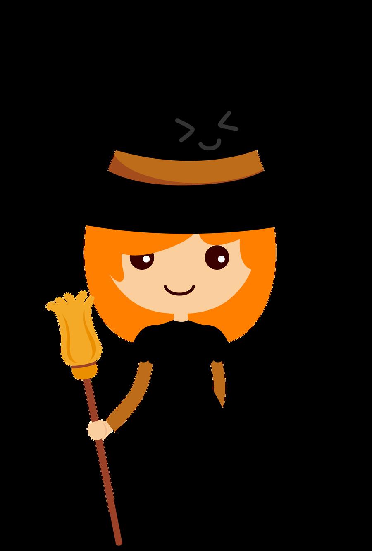Witch clipart orange ClipartHalloween Halloween WitchesClip Minus brujita