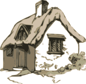 Cottage clipart hous At Cottage Art online vector