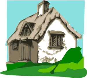 Cottage clipart thing Royalty  Clker Cottage Cottage