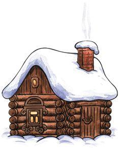 Cottage clipart christmas cottage Cottage Clipart Christmas Christmas Art