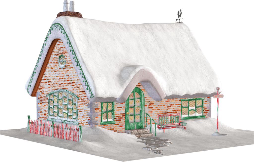 Cottage clipart christmas cottage Clipart Christmas Clipart Cottage Cottage