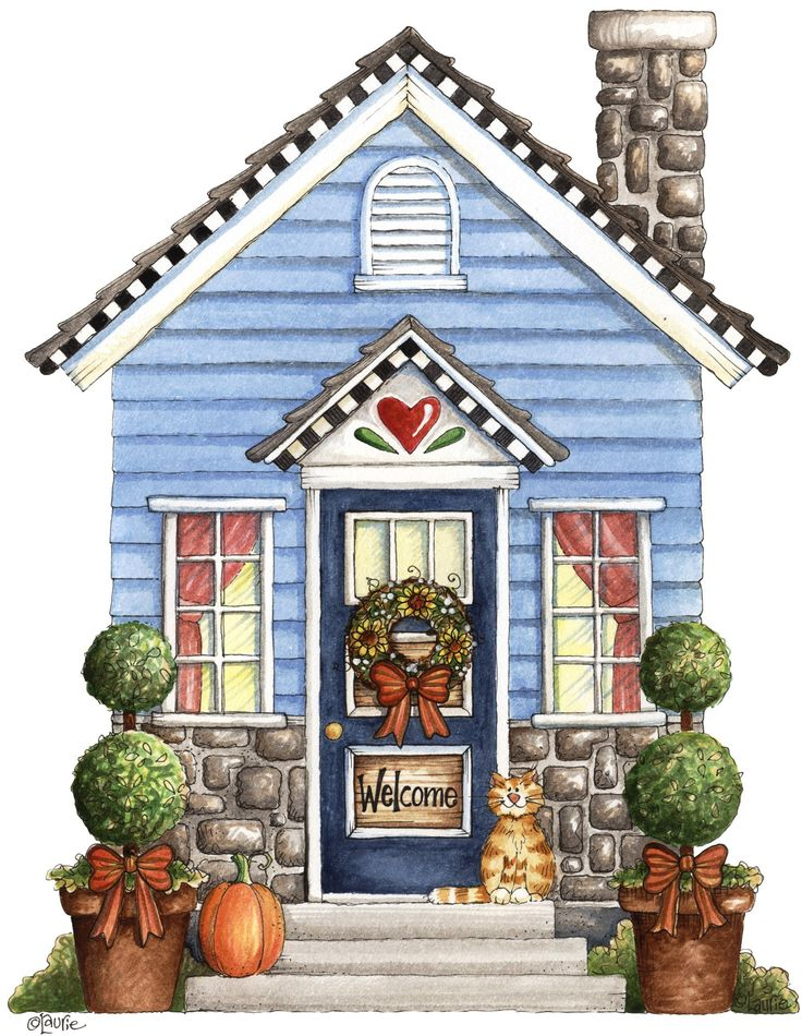 Cottage clipart coming home Pinterest Laurie on about Not