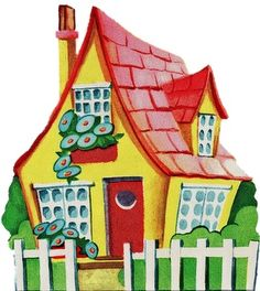 Cottage clipart fairytale cottage Cottage art (73+) Cottage House