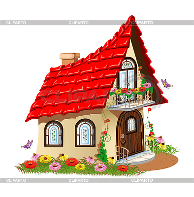 Cottage clipart fairytale cottage Serie liana2012 with fairytale Fairytale