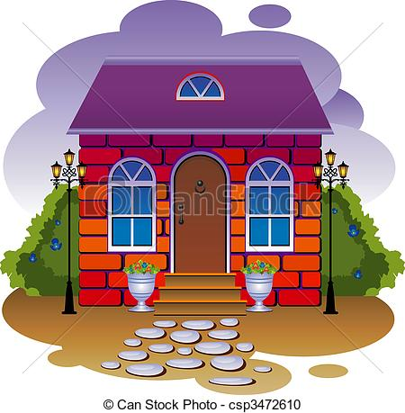 Cottage clipart fairytale cottage 715 Cottage Cottage Fairy Illustrations