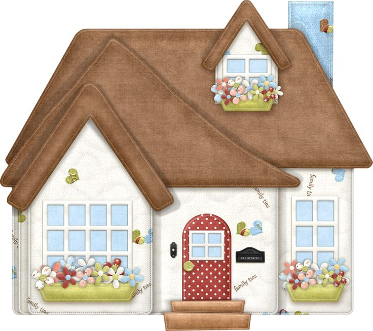 Cottage clipart home and family Minus happy images by on