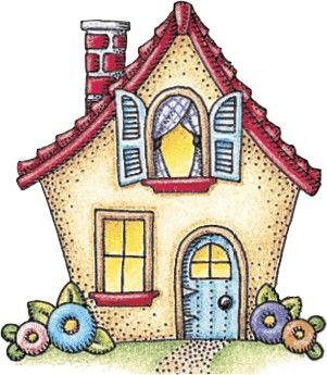 Cottage clipart new home Clip Decoupage Decoupage Mis New