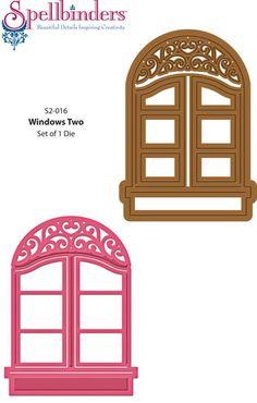 Cottage clipart windoor Windows Die Madison Dies Designs