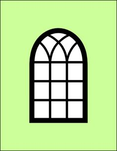 Cottage clipart windoor Spellbinders Scrapbooking: card Arched frame