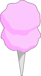 Cotton Candy clipart Online Clker Art Art art