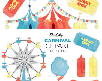 Hot Dog clipart carnival Tent Circus clipart clipart cotton
