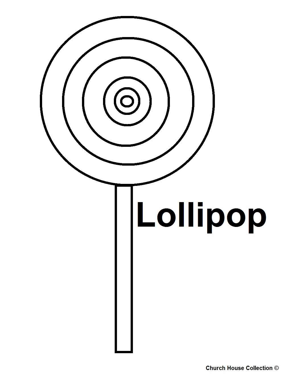Drawn lollipop Lollipop page Coloring Pages Food
