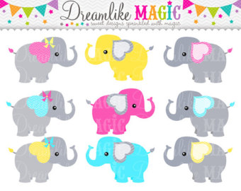 Cotton Candy clipart elephant Commercial Blue Circus Clipart Yellow
