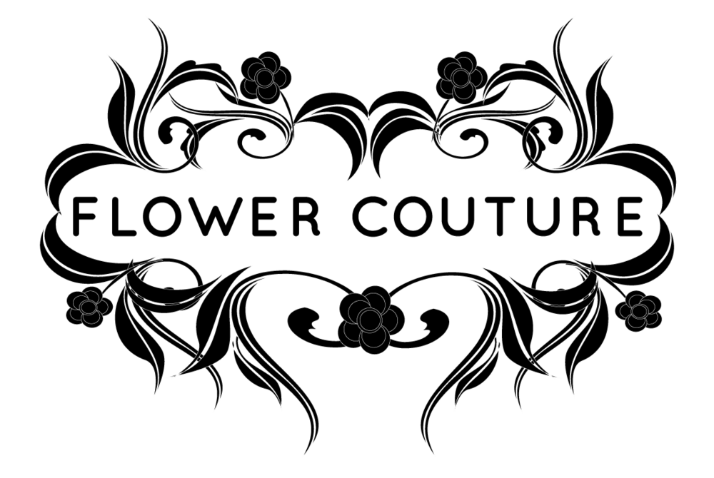 Coture clipart black and white COUTURE — FLOWER Blog
