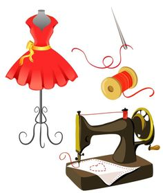 Coture clipart clothes Buy and art isolated moremarinka