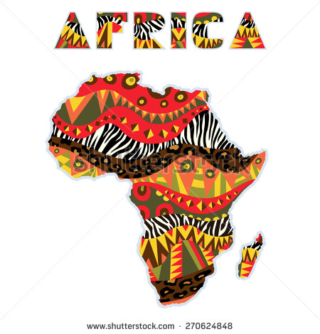 Coture clipart continent Of continent with native art