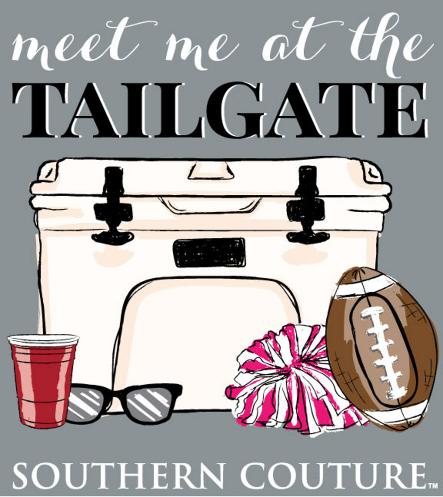 Coture clipart continent T Southern Tailgate SC141GN Shirts