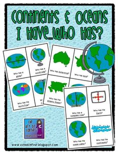 Geography clipart continent Continents I com Who Have