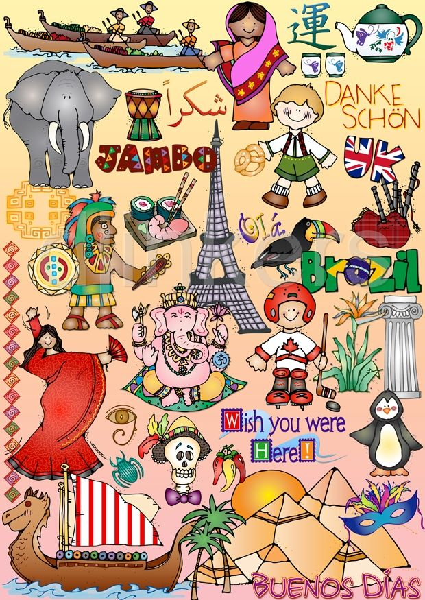 Culture clipart cultural diversity Pinterest & images J World