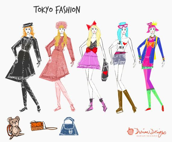Coture clipart diverse student Use Cuteass instant clothes Tokyo