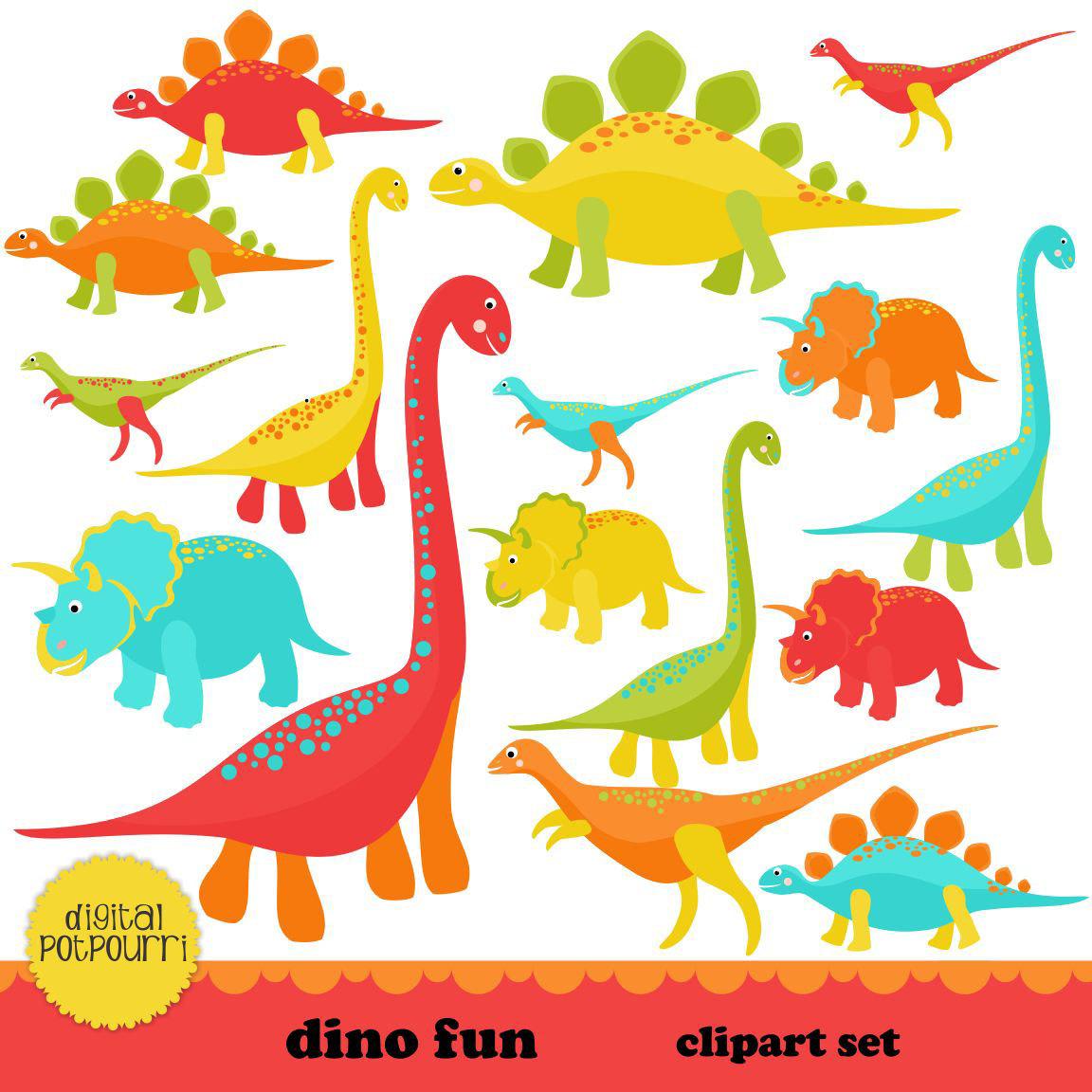 Coture clipart diverse student Set dino INSTANT INSTANT dinosaur
