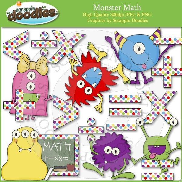 Coture clipart esl Math Math Monster Art Teachers