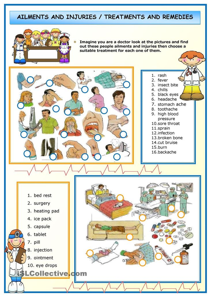 Coture clipart esl And best Ailments VOCABULARY on