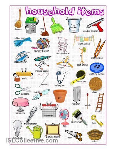 Coture clipart esl Items printable edu Household made