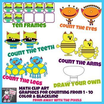 Coture clipart esl Math Color Art Monster Pinterest