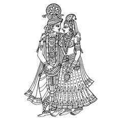Black & White clipart hindu wedding Google Search clipart reception Everything