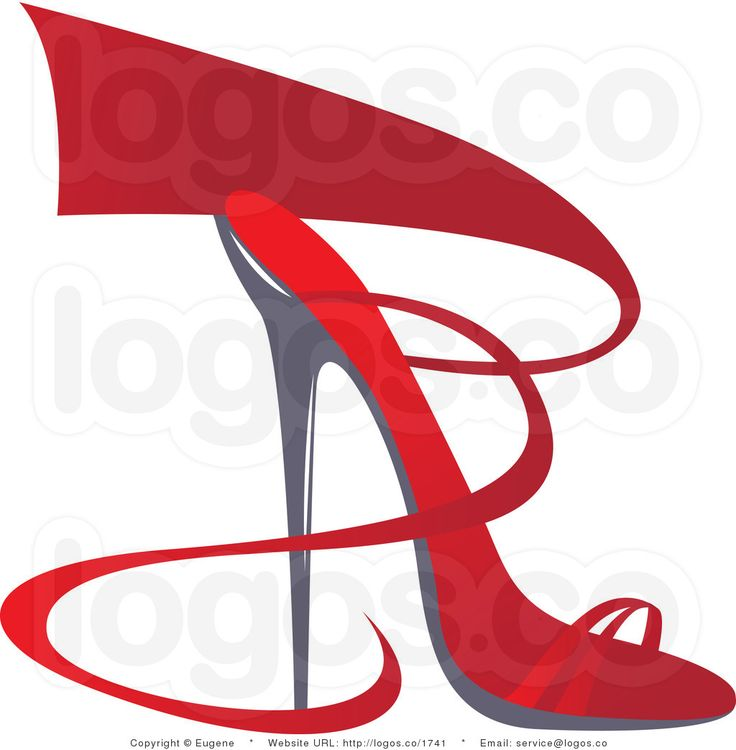 Shoe clipart solid object #7