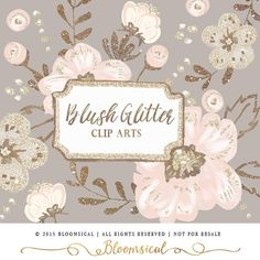 Coture clipart respect Art Hand Blush by Floral