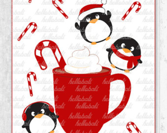 Coture clipart respect Kawaii Family Holiday Clipart Christmas