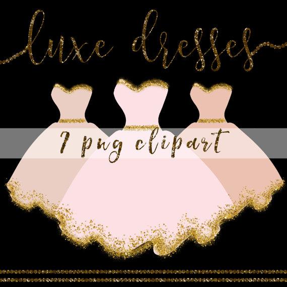 Coture clipart respect Couture digital Dress Dresses This