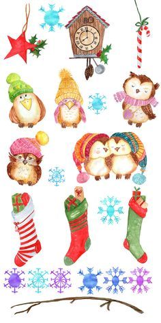 Coture clipart responsibility Girl Christmas Winter Cute clipart: