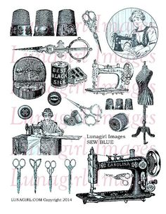 Coture clipart service learning Images sewing sheet notions collage