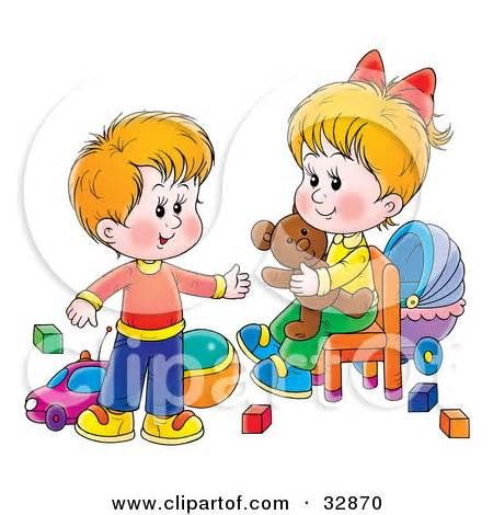Coture clipart sibling Play he on images best