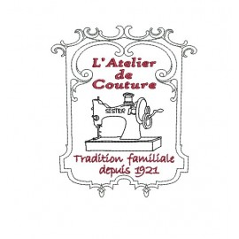 Coture clipart workshop Machine Couture embroidery download Alice